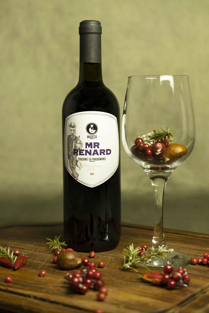 Bottiglia di Cabernet Milocco.